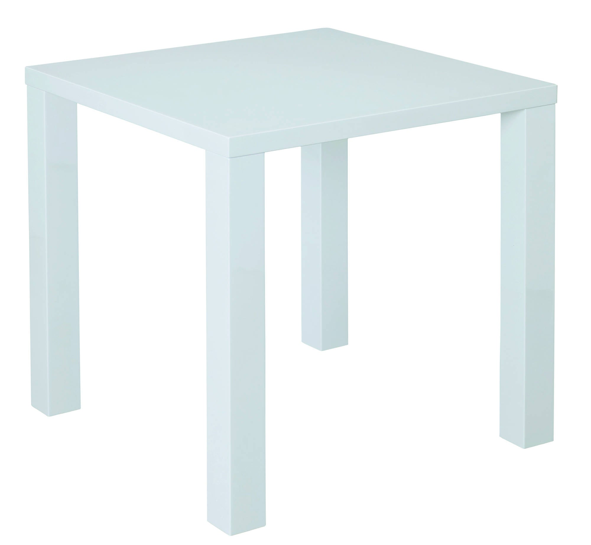 Sterling Small Dining Table in White - Ezzo