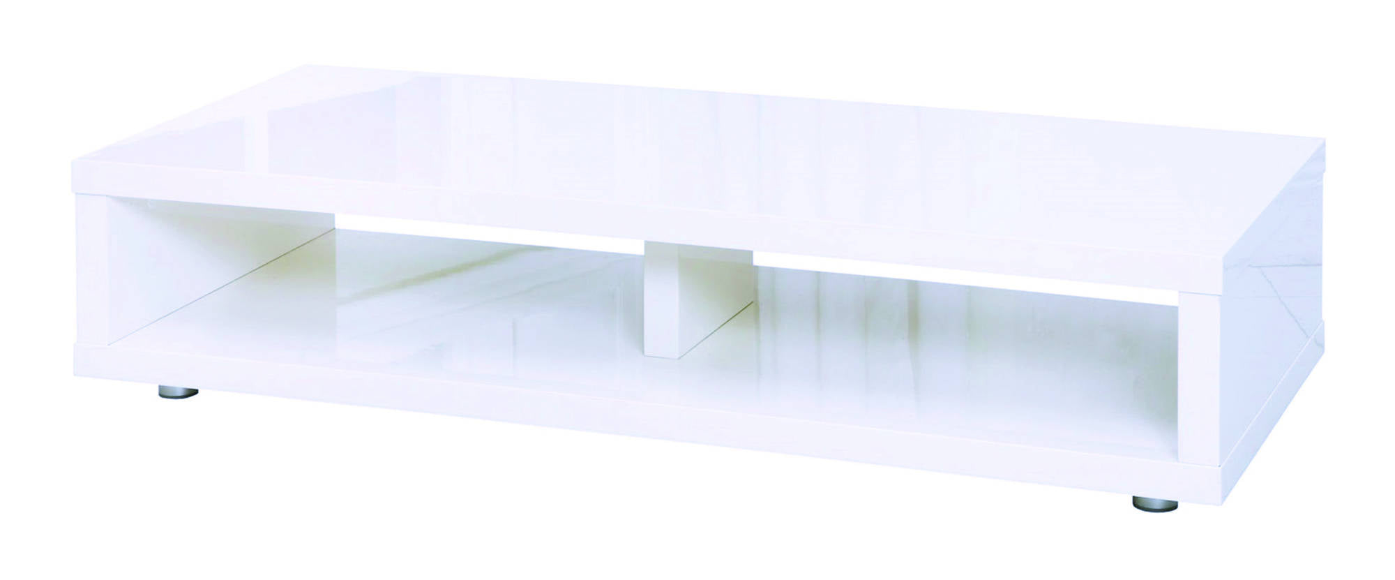 Sterling TV Media Stand in White - Ezzo