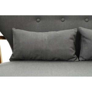 Stockholm 2 Seat Sofa in Grey