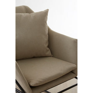 Stockholm Stone Fabric Chair