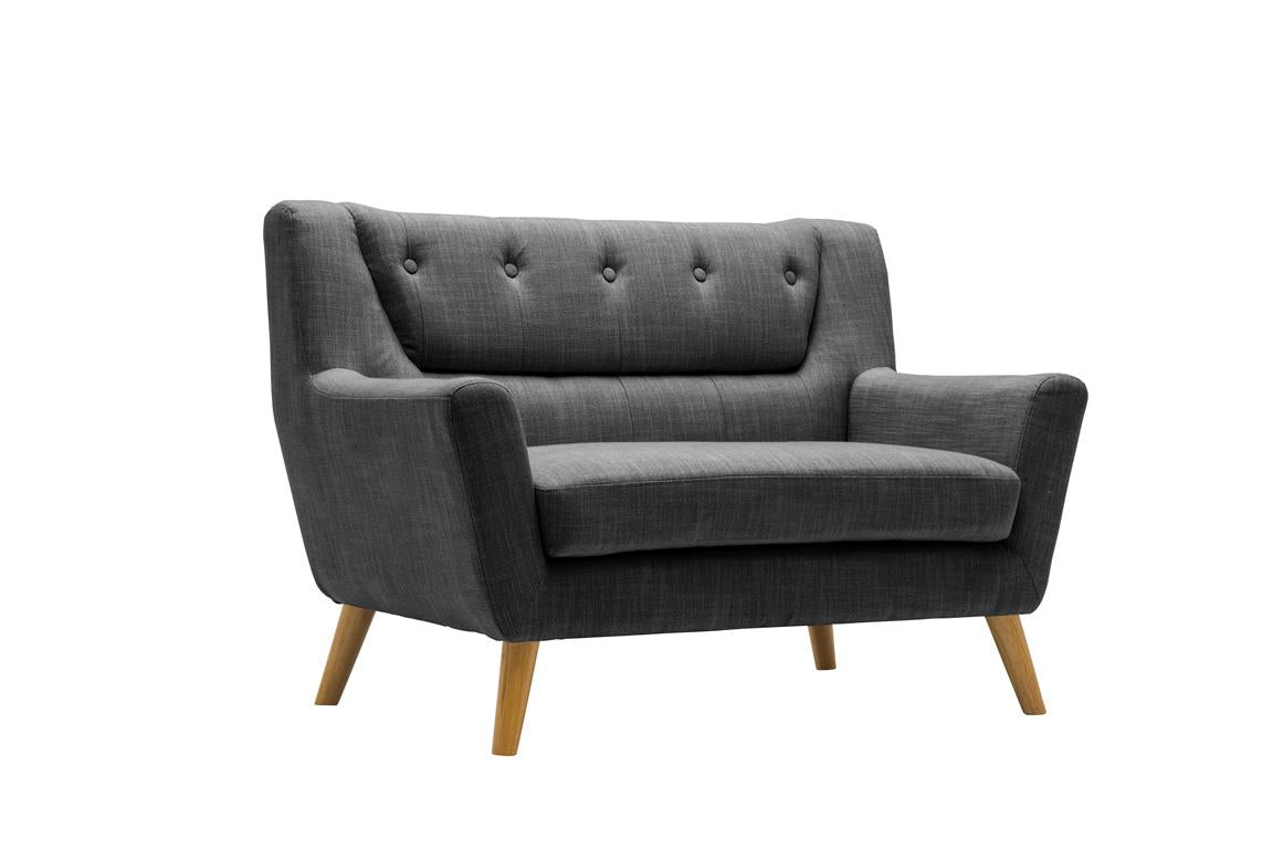 Stockwell 2 Seater Sofa in Grey