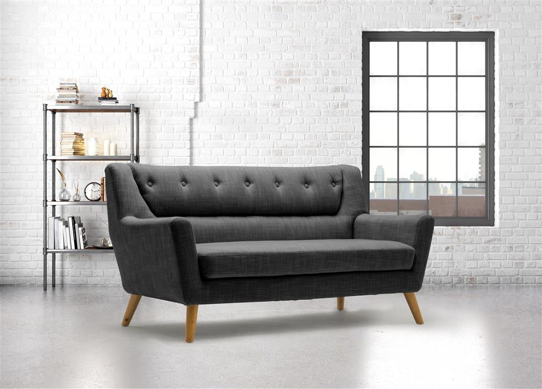 Stockwell 3 Seater Sofa in Grey - Ezzo
