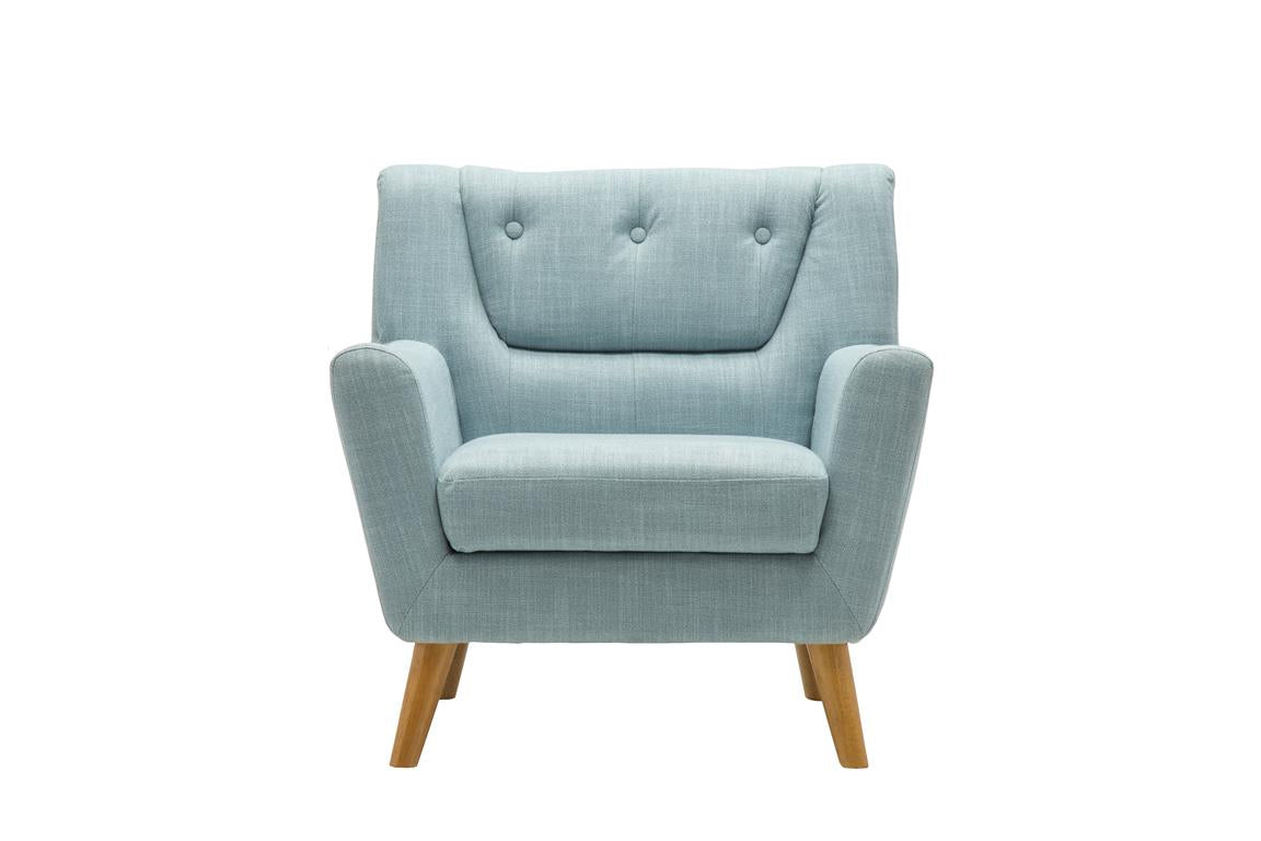 Stockwell Armchair in Duck Egg Blue