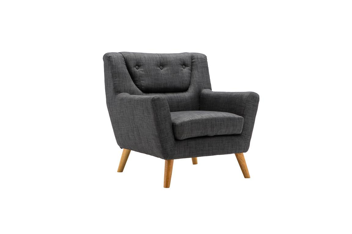 Stockwell Armchair in Grey