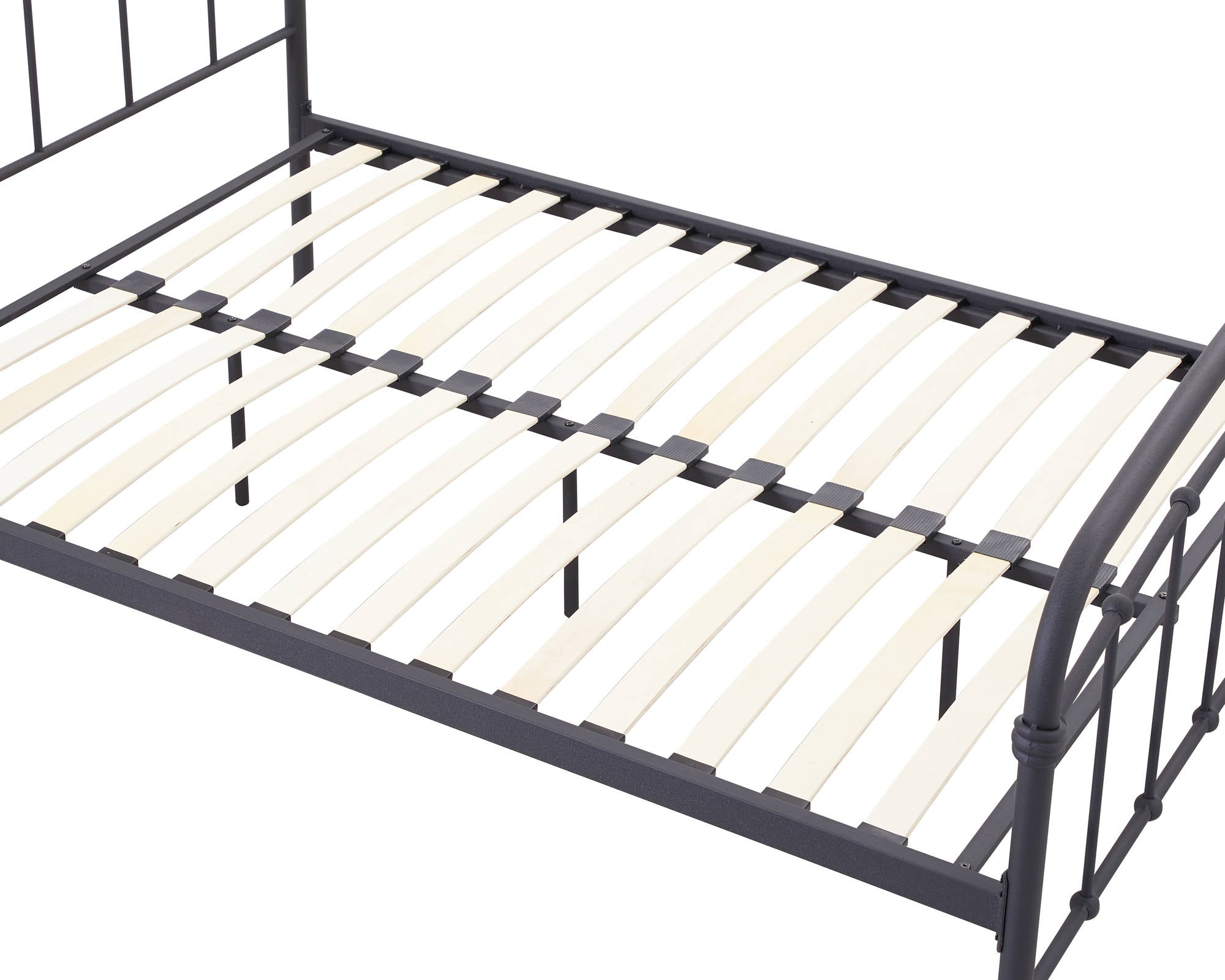 Stretton Double Bed in Black - Ezzo