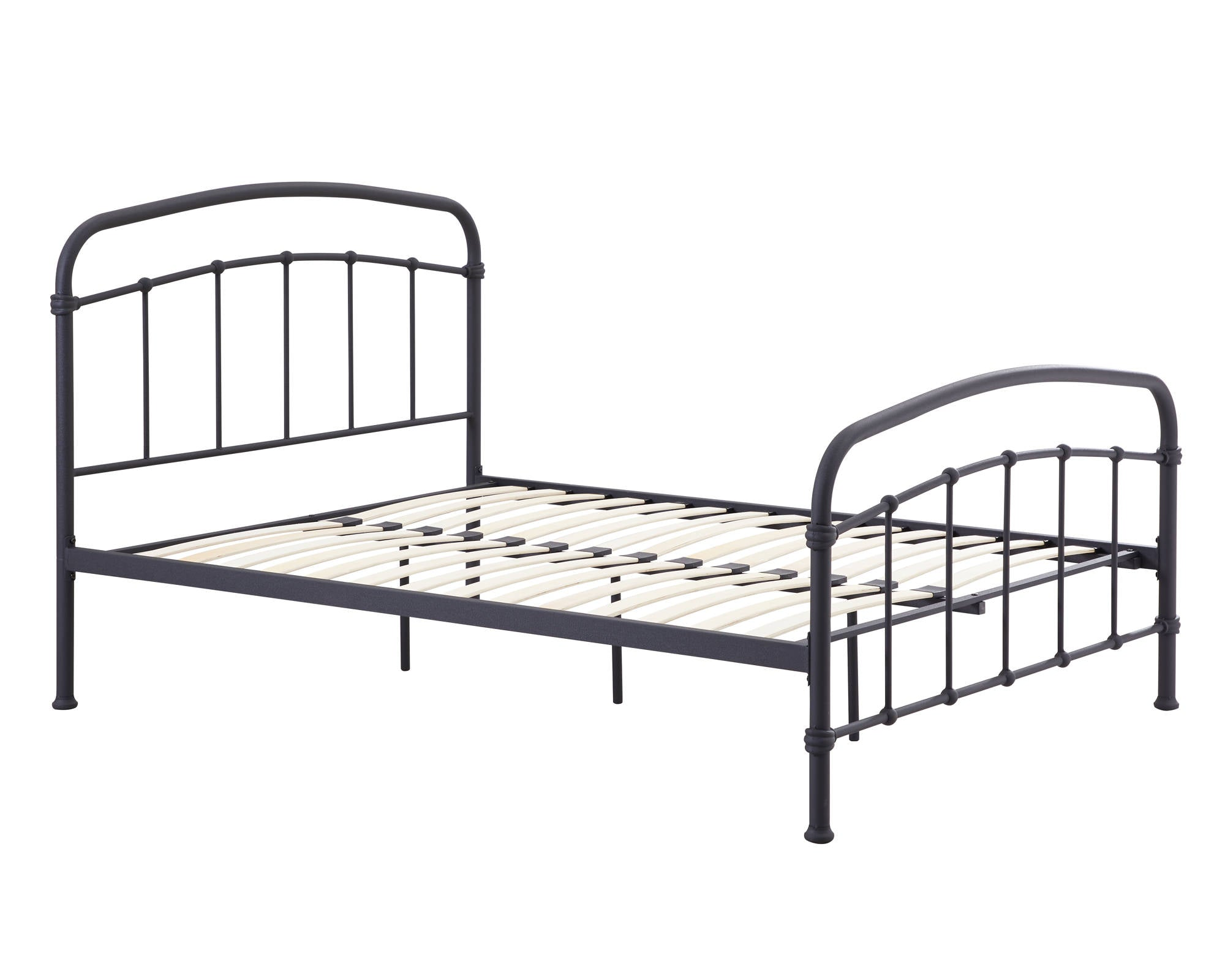 Stretton Single Bed in Black - Ezzo