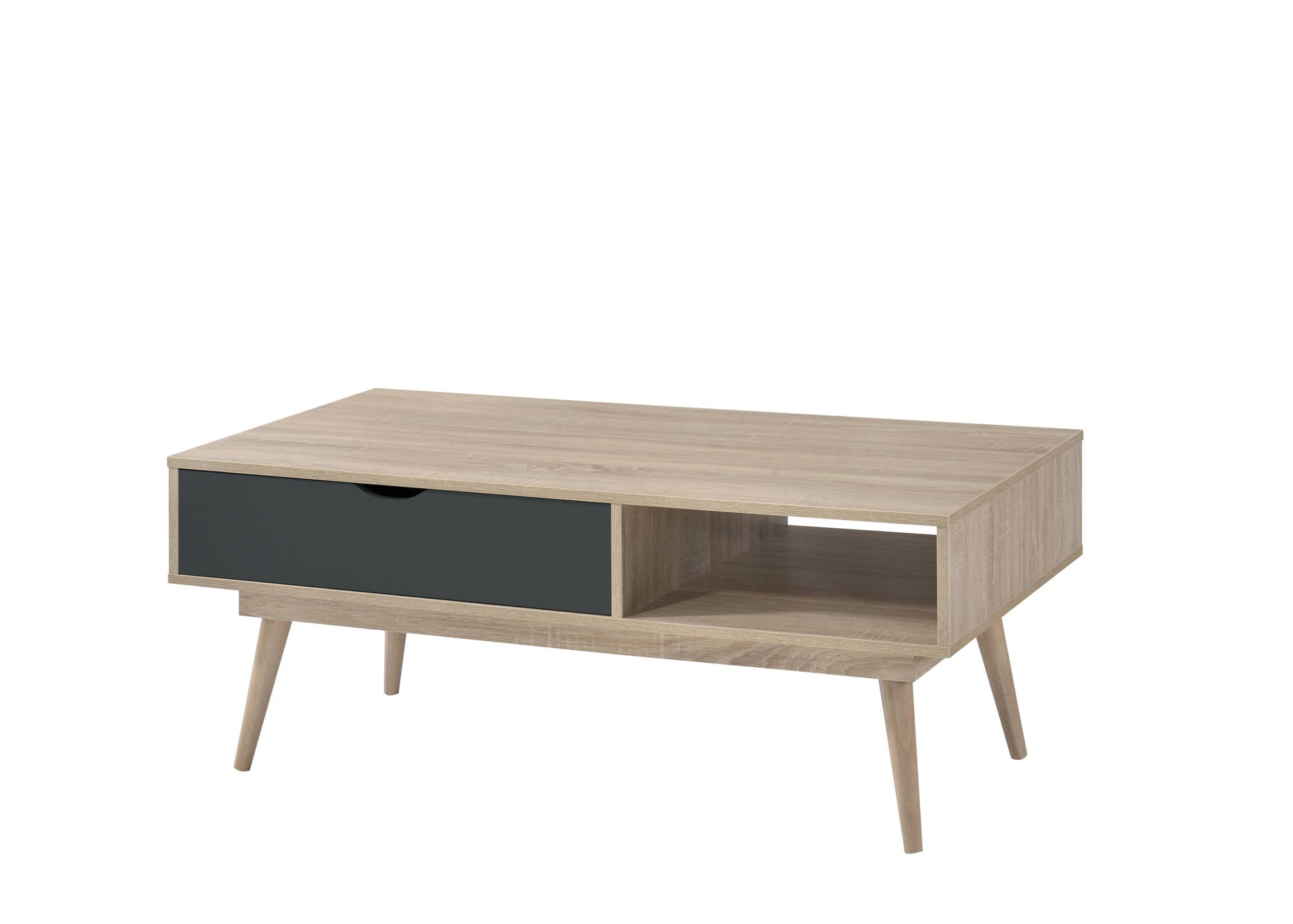Svalbard Coffee Table in Grey - Ezzo