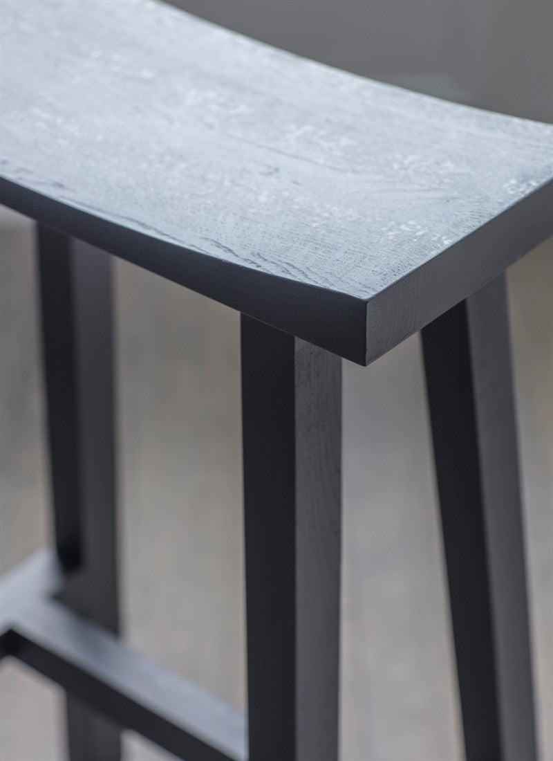 Tall Clockhouse Stool in Carbon