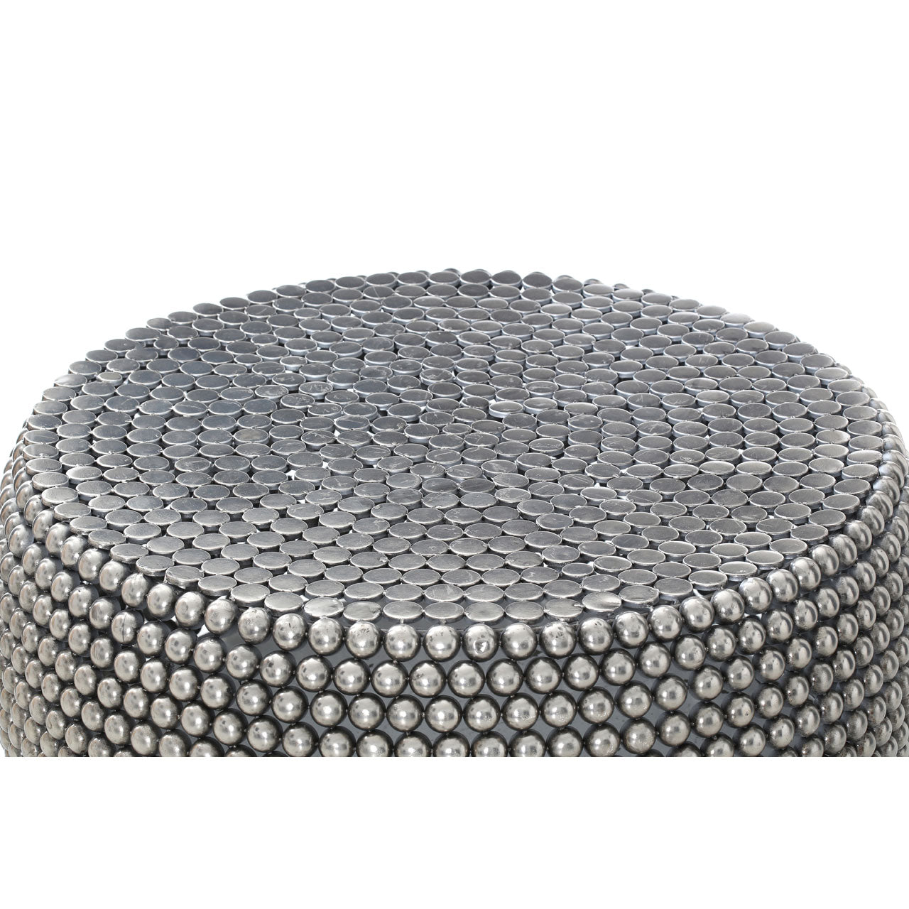 Templar Coffee Table Silver