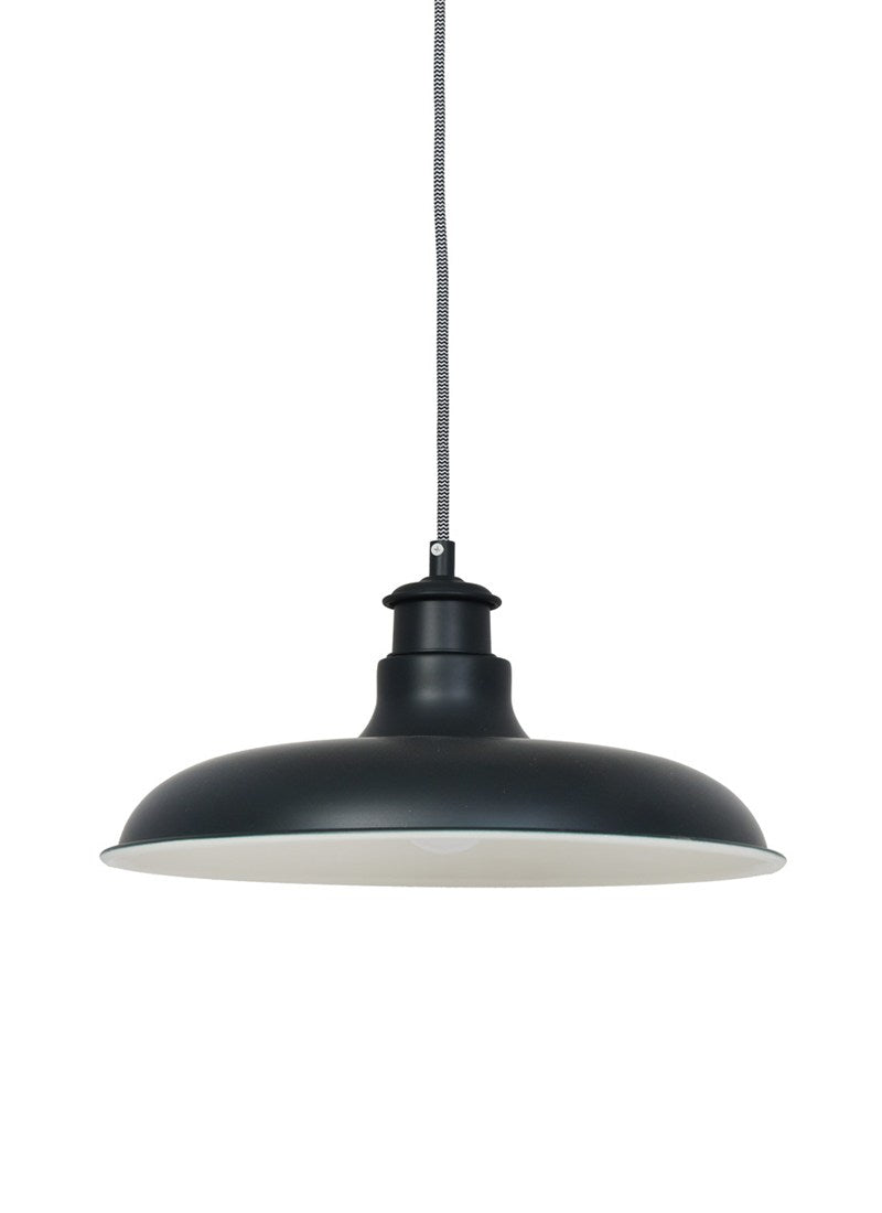 Toulon Pendant Light in Carbon Steel