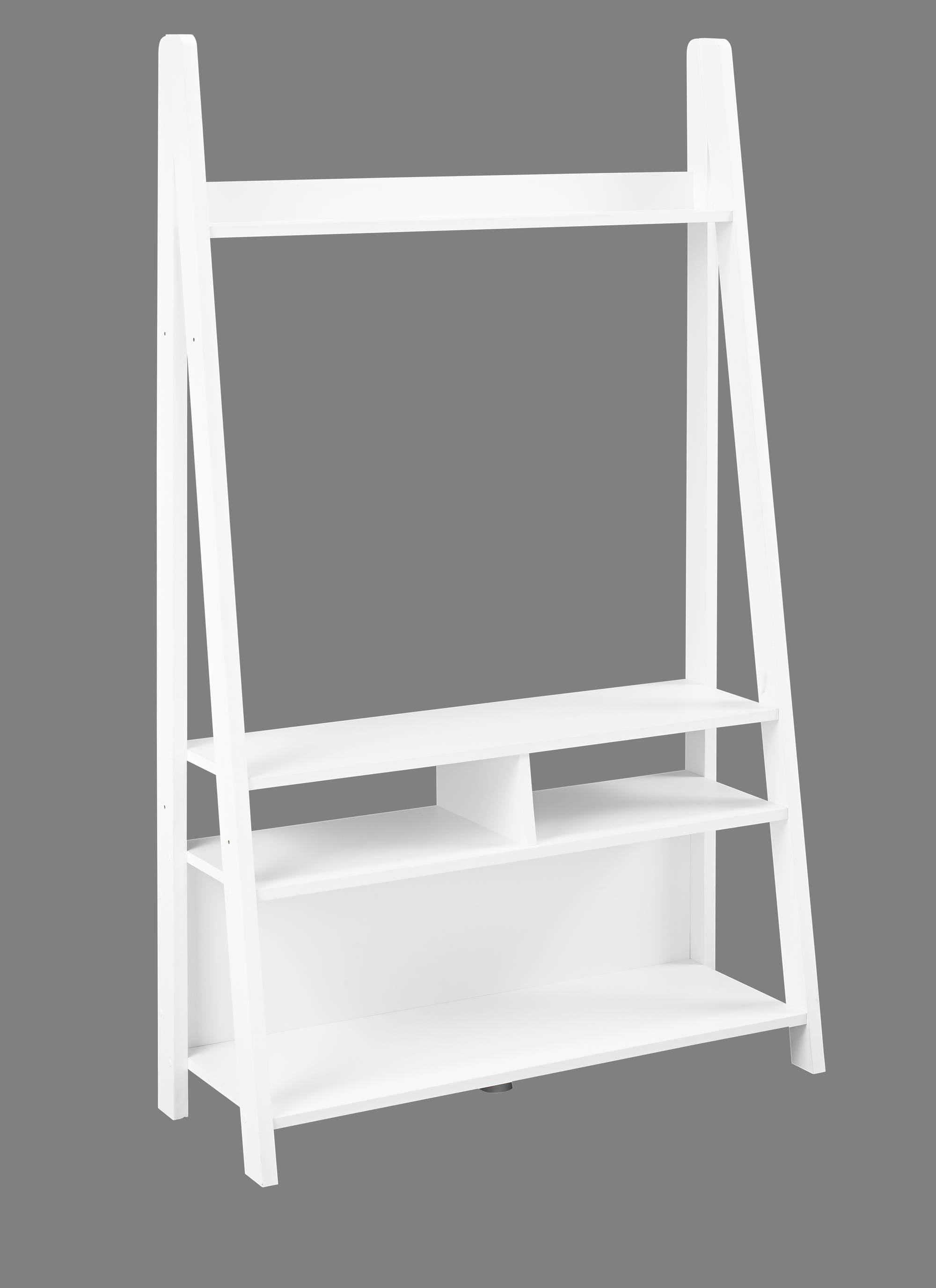 Turan Ladder Entertainment Unit White - Ezzo