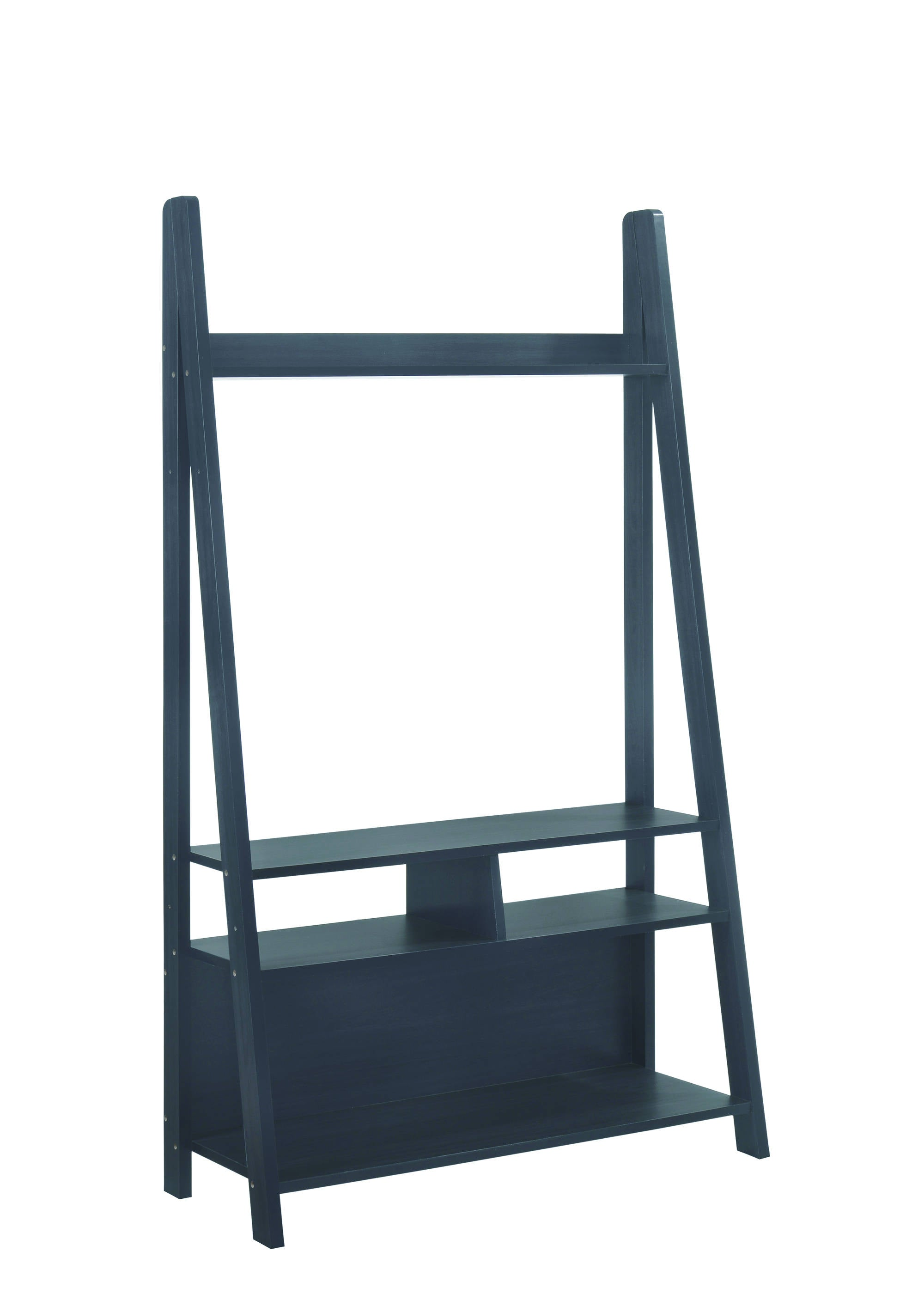 Turan Ladder Entertainment Unit Black