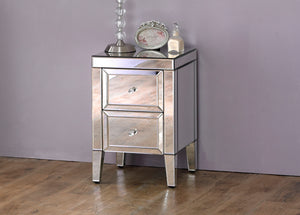 Turia 2 Drawer Bedside Table