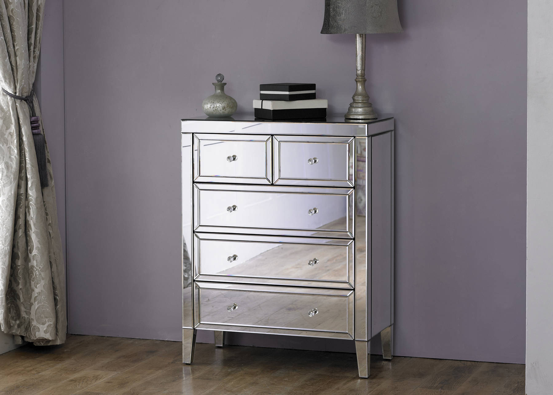 Turia 3 + 2 Drawer Chest