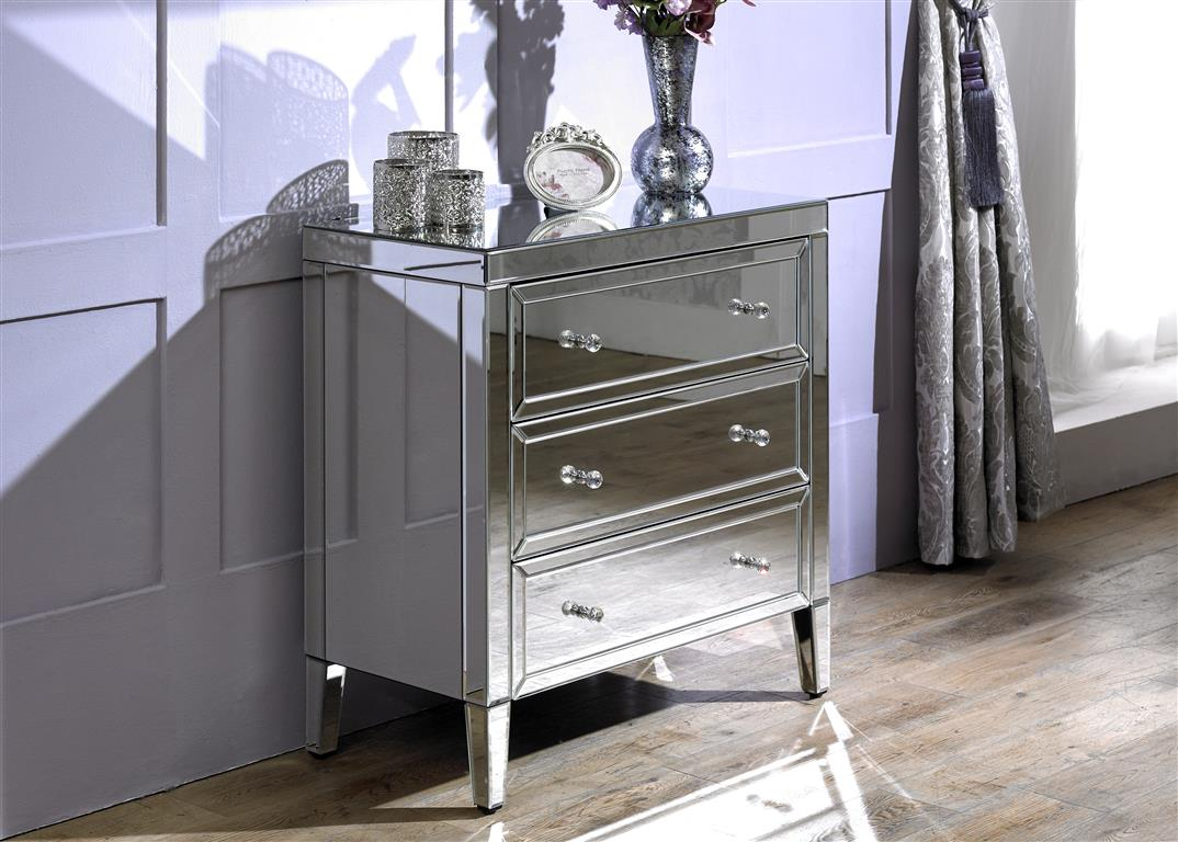 Turia 3 Drawer Chest