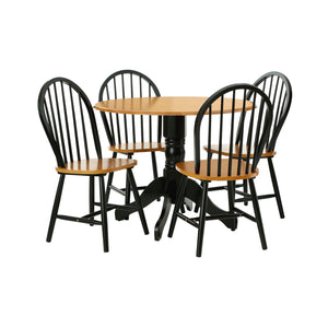 Vermont Oakland Chair in Matt Black