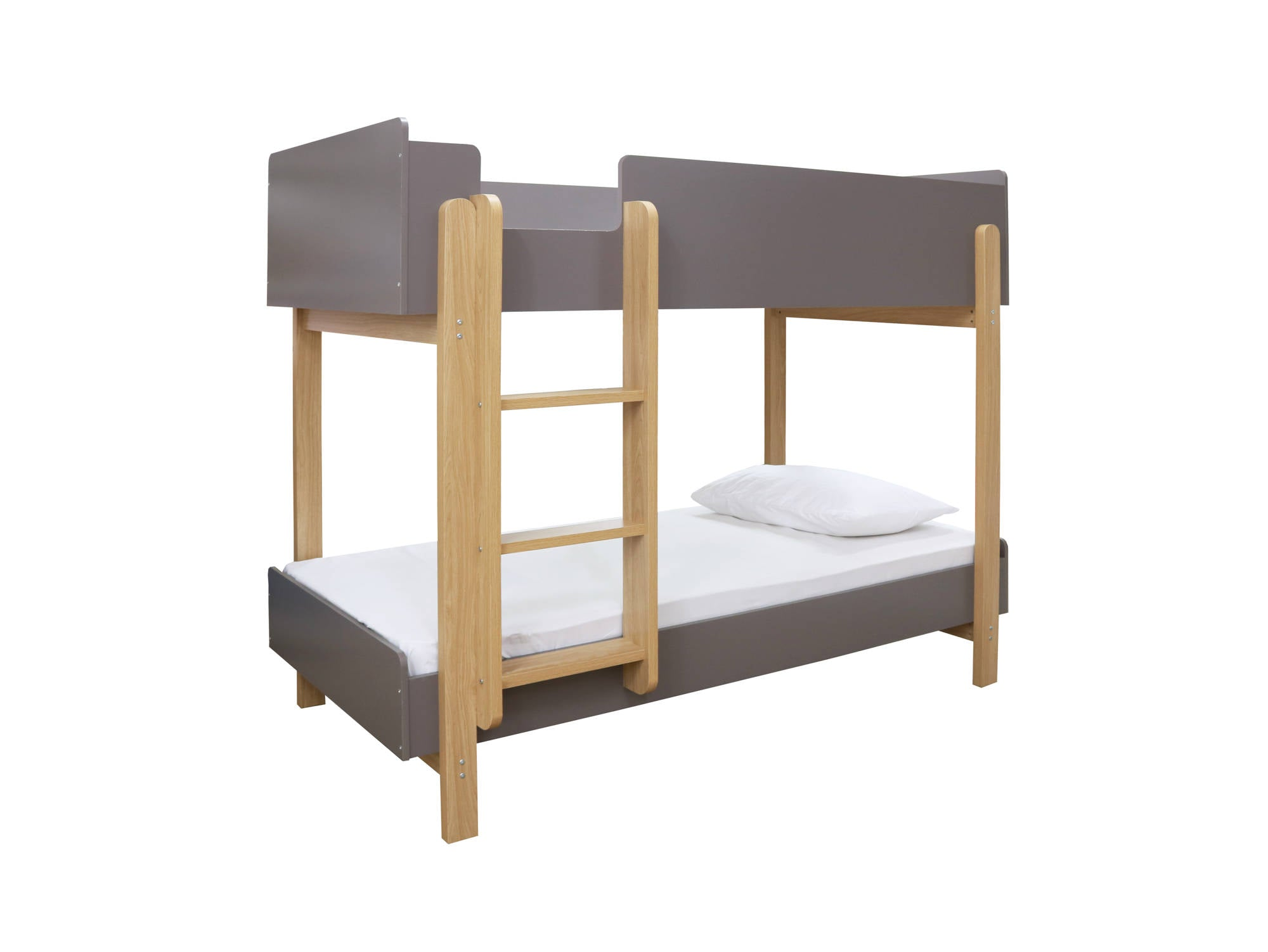 Victor Bunk Bed in Grey - Ezzo