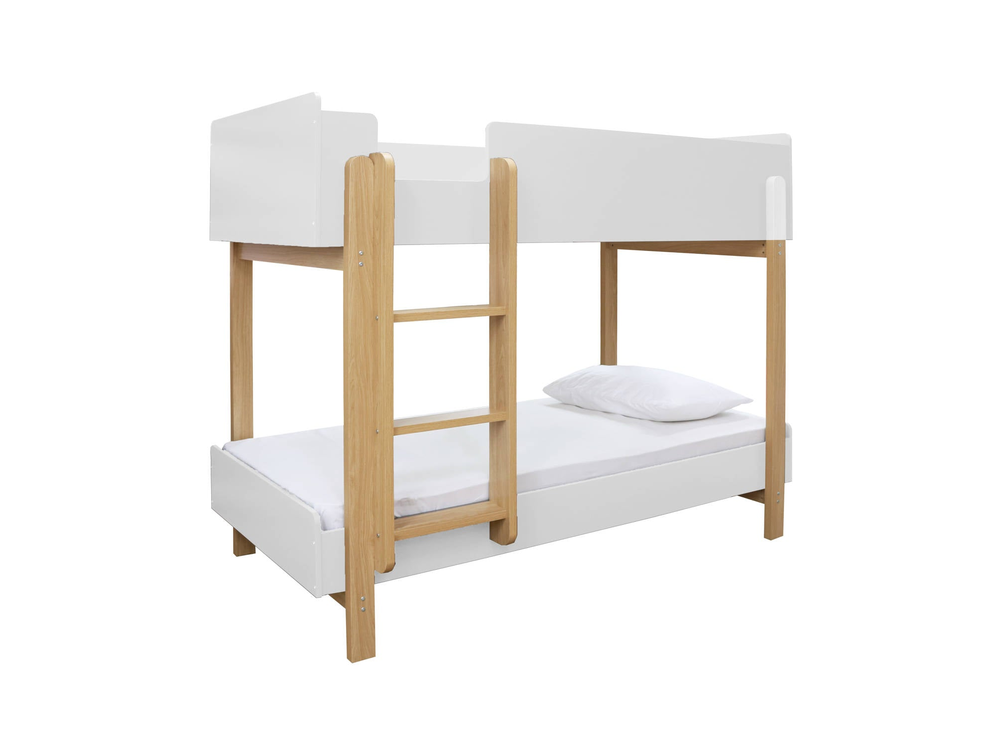 Victor Bunk Bed in White - Ezzo