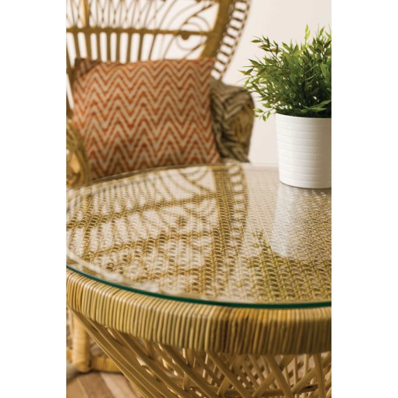 Woodstock Rattan Table Natural