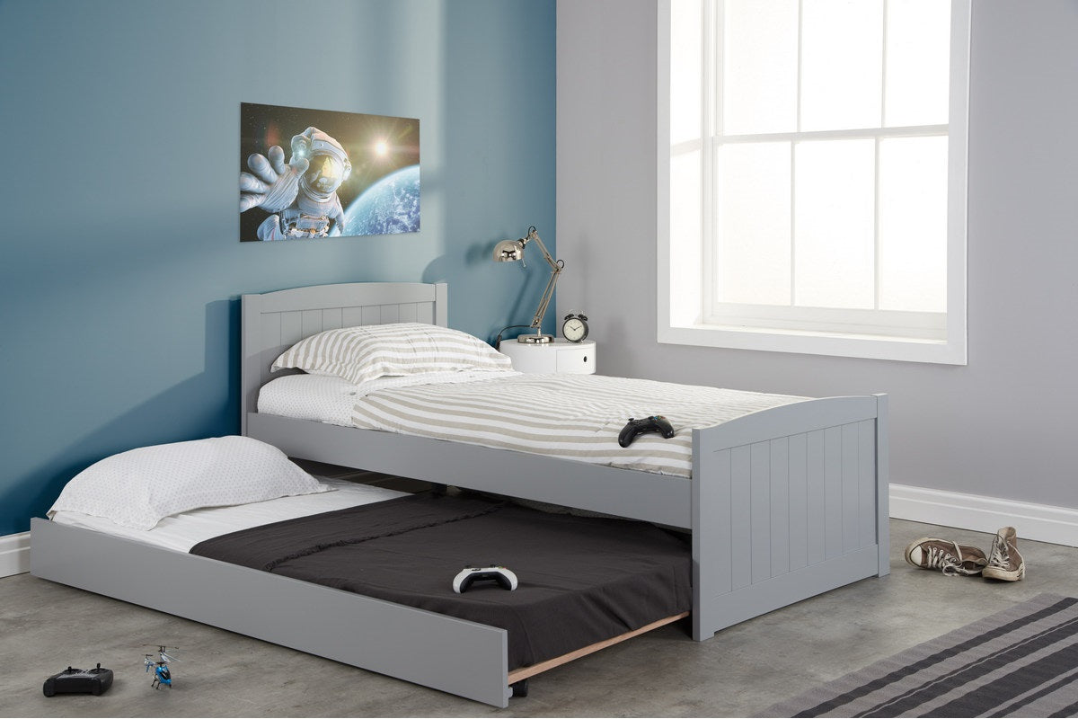 Woolwich Trundle Bed in Grey - Ezzo