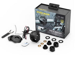 Steelmate DIY TP-90 Pro Bike TPMS external sensor