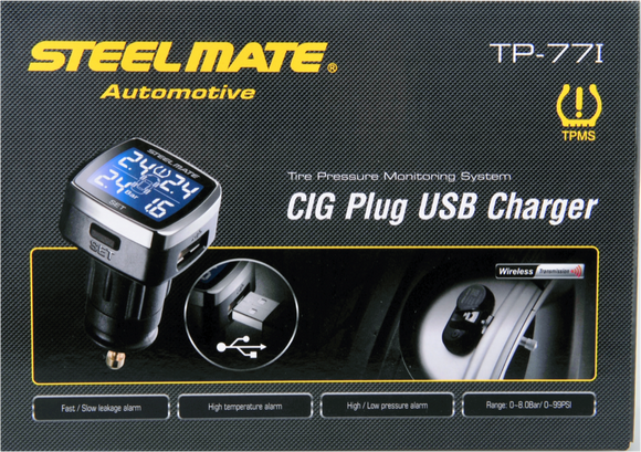 Steelmate TP-77 Cig Powered TPMS Internal Sensor