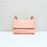 FOLD-OVER BAG - ROSE