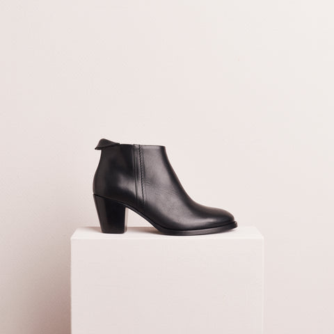 CUBAN BOOT - BLACK CALF