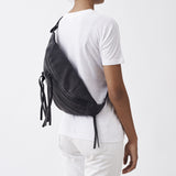 OVERSIZED BUM BAG - BLACK