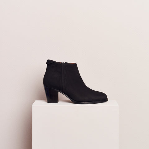 CUBAN BOOT - NUBUCK BLACK