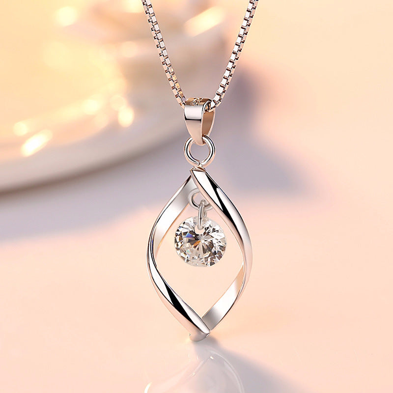 high quality zircon chain necklace!