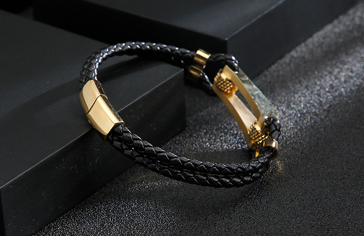 HIGH QUALITY LUXURY LEATHER BRACELET