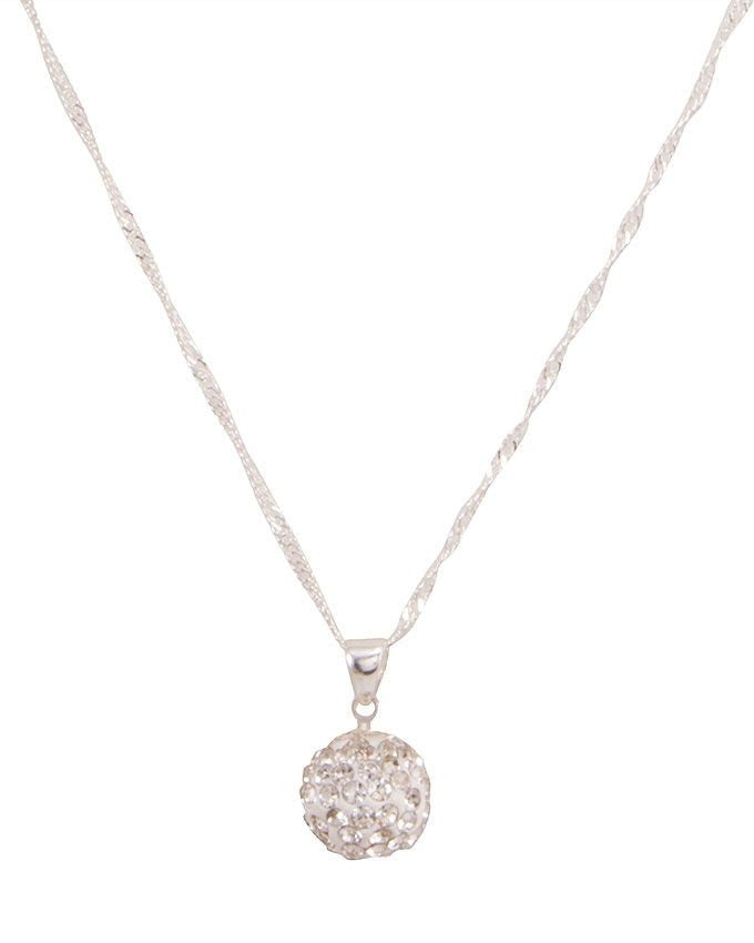 Austrian crystal ball pendant necklace - Lexception