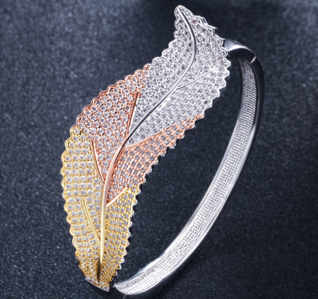 Lexception THE LOTUS Luxury Bangle