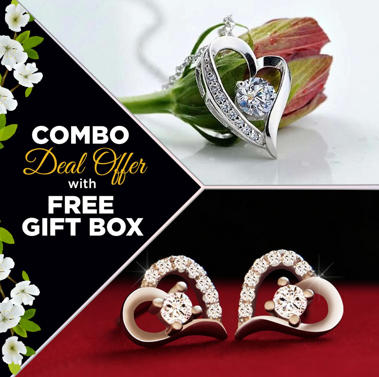 Heart style exclusive design combo offer