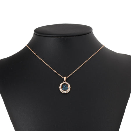 18K rose gold plated necklace - Lexception