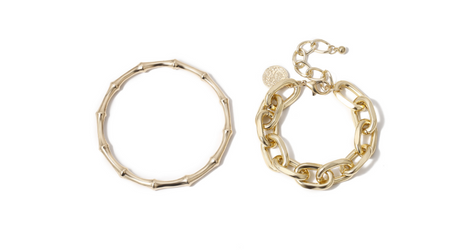 bracelet set gold plating Trendy wear