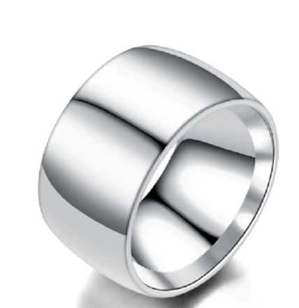 Men stainless steel titanium ring