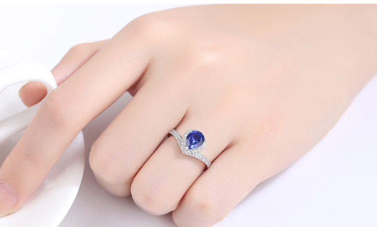 LEXCEPTION BLUE DREAM 925 SILVER RING