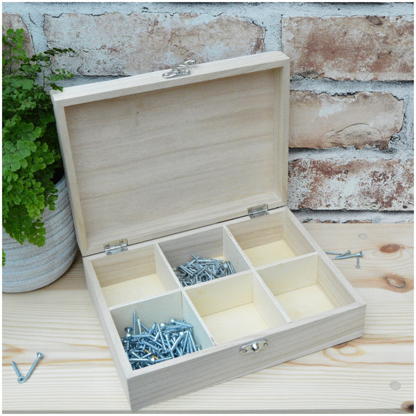 Personalised Tool Themed Keepsake Box