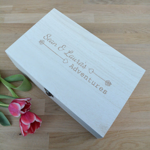 Adventures Keepsake Box
