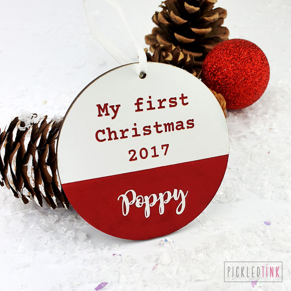 Baby's 1st Christmas Decoration