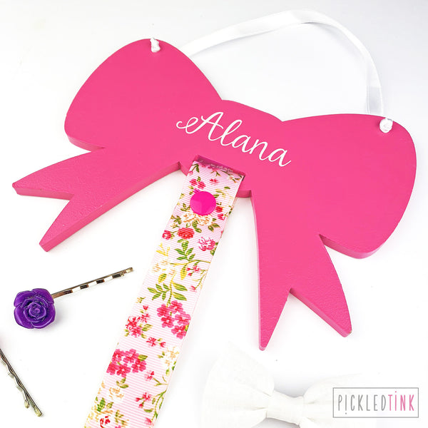 Children's Hair Bow Holder