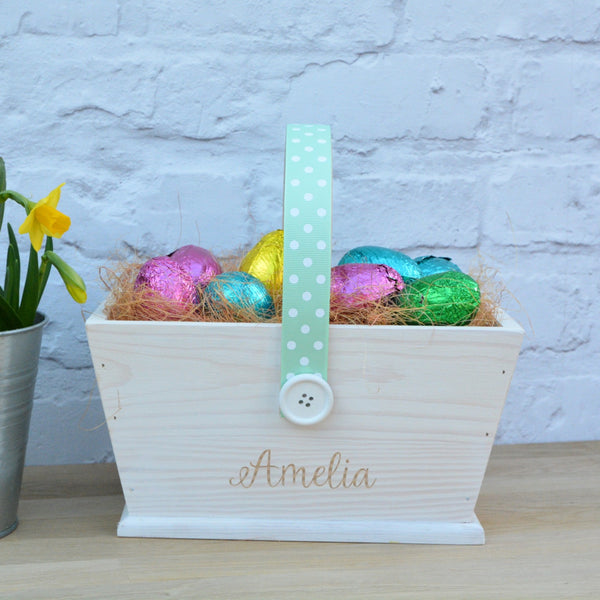 Wooden Easter Trug