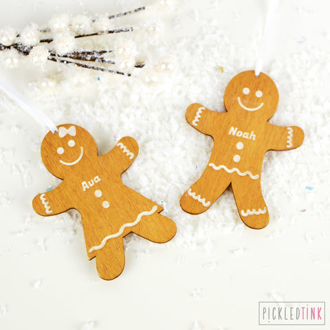 Gingerbread People Decoration