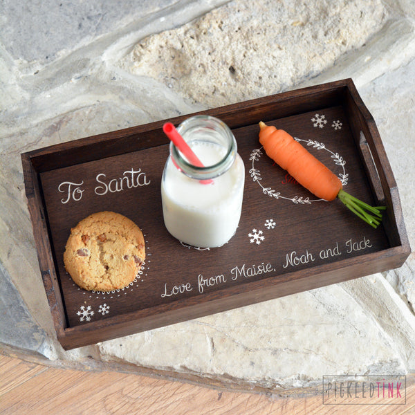Santa's Treat Tray