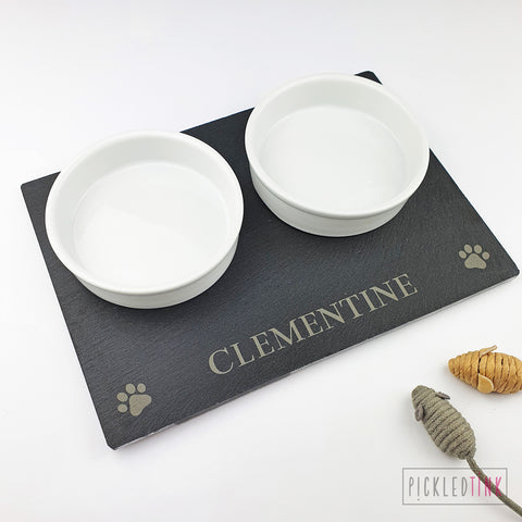 Slate Cat Placemat