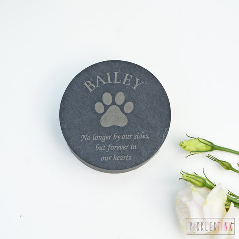 Welsh Slate Pet Memorial Stone