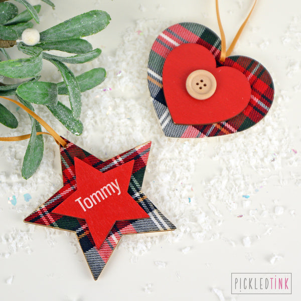 Tartan Decoration
