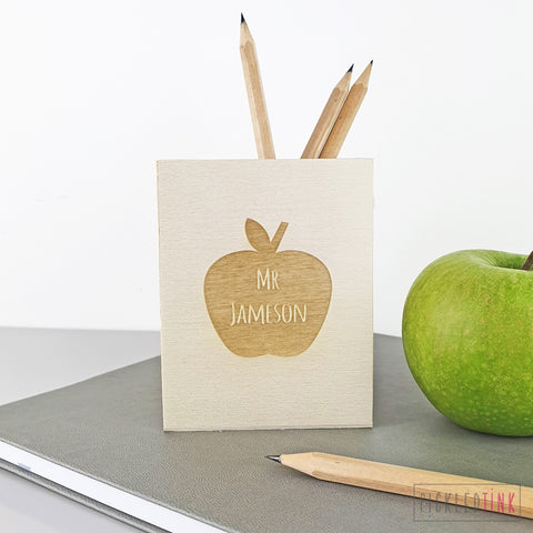 Personalised Pen Pot for Teachers